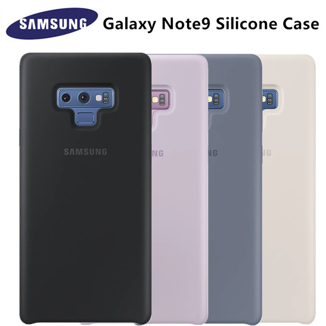 promo code c090f 068d6 US $7.94 47% OFF|100% Original Samsung Galaxy Note 9 / Note8 Silicone Case  for Samsung Note9 S9 Plus Cover Anti Wear Protection EF PN965 EF PN960-in  ...