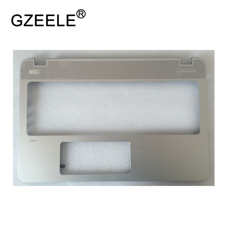 GZEELE New For HP ENVY15-Q envy 15-Q M6 M6-N Palmrest C Shell Top Case Cover 774153-001 760040-001 bezel upper topcase silver original new 15 6laptop lower case for hp omen 15 5000 series bottom cover base shell 788598 001 empty palmrest 788603 001