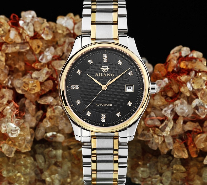 Lover's Watches Cool Neutral Stylish Women Handsome Stainless Steel Watches Sparkly Crystals Dress Watch Square Reloj 2 Sizes Montre Femme F8183