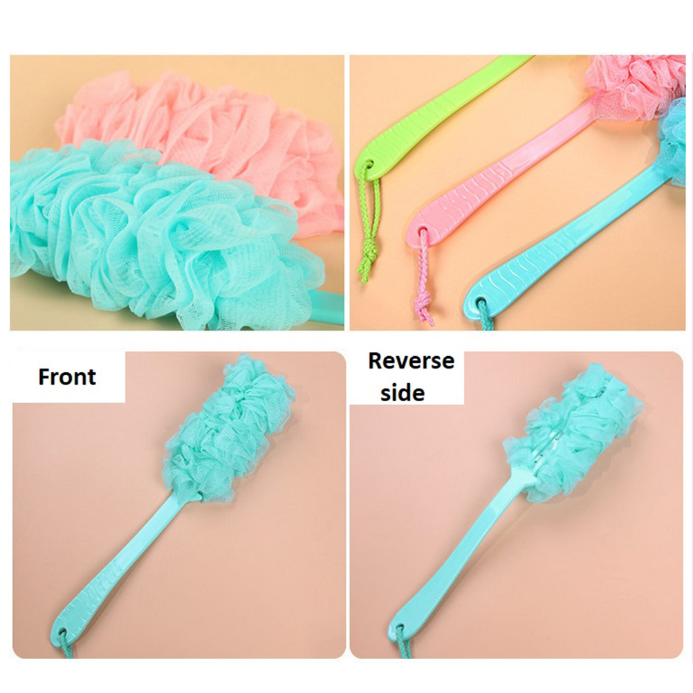 Body Sanitary Ware Suite Bath Brush Exfoliation Brushes Scrub Skin Massage Health Care Shower Reach Feet Rubbing Brush