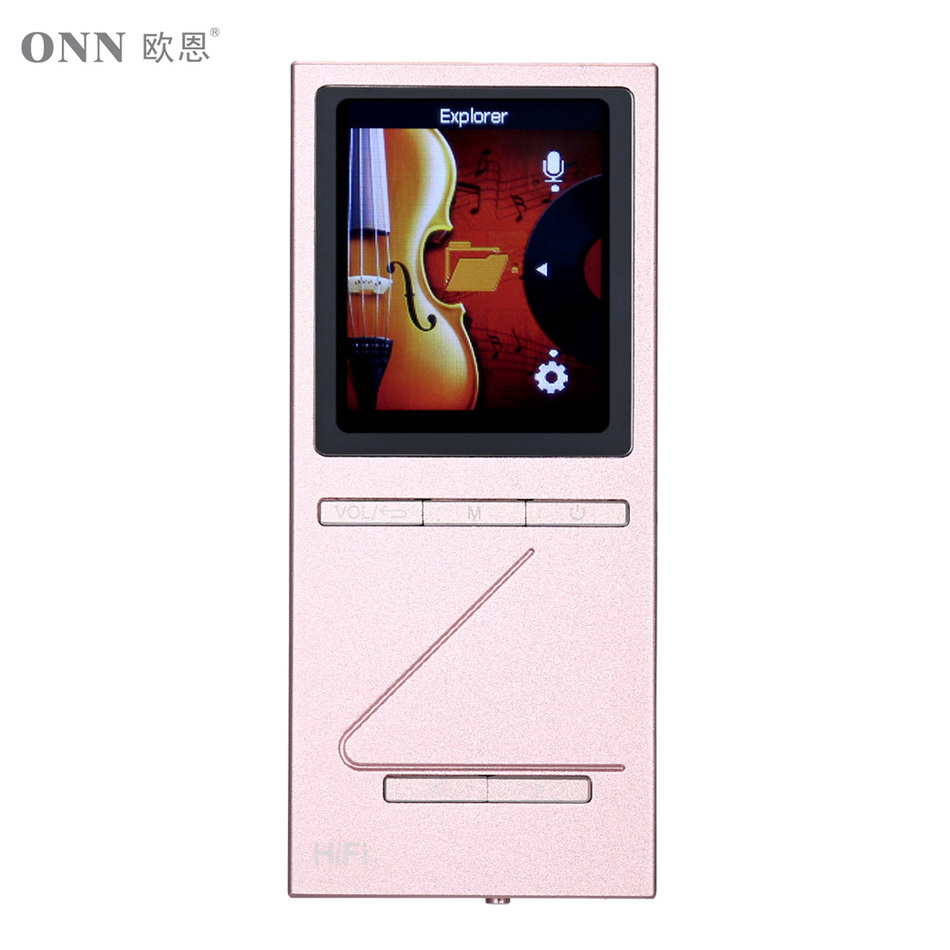 ONN X5 MP3 Hifi Audio Player DAC Player 8GB Lettore with FM Music Player Support TF