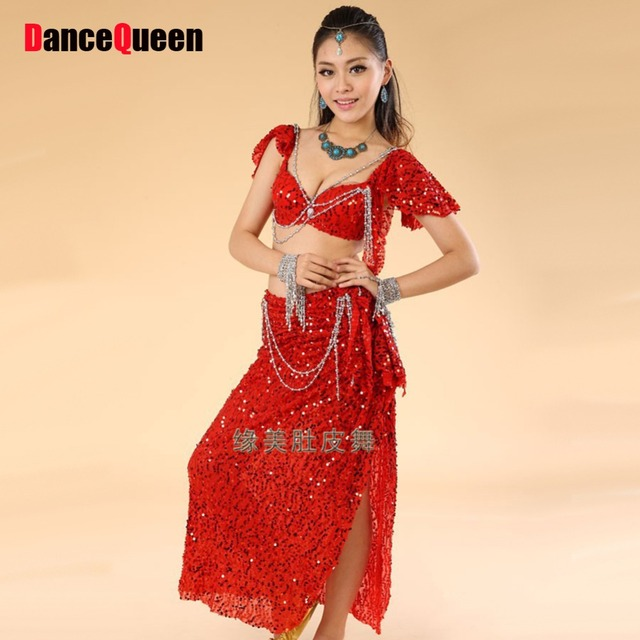 8231ebe33 Belly Dance Costume (Bellydance Bra+Shiny Skirts) Bollywood Dance Costumes  8colors Dance Wear Sc 1 St AliExpress.com