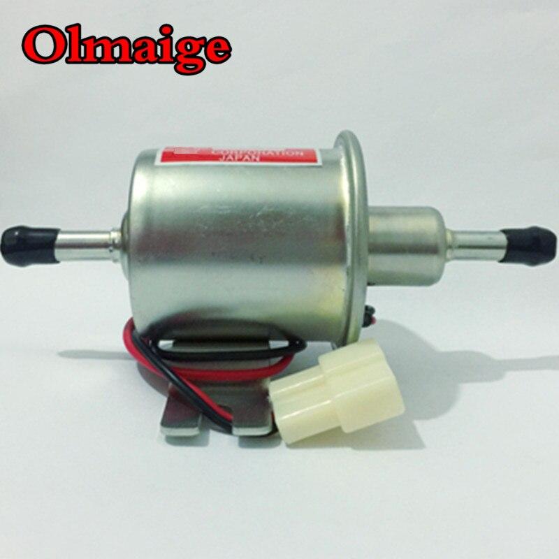 Low Pressure 12 volt Electric InLine Fuel Pump Universal Suit Classic Cars
