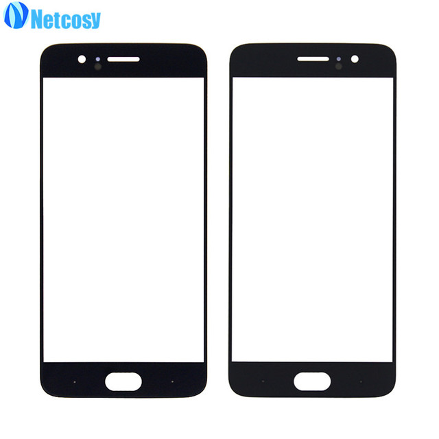 Netcosy LCD glass For Oneplus 1+5 Front Screen Outer Glass Lens Cover For OnePlus 5 A5000 Phone Cover Plate Replacement Repair
