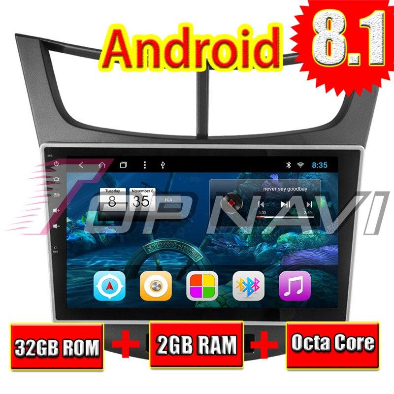 Автомобиля 10,1 ''Нет dvd плеер Android 8,1 для Chevrolet Парус 3 2015 Topnavi автомобильной MP3 MP4 gps навигации Bluetooth телефон