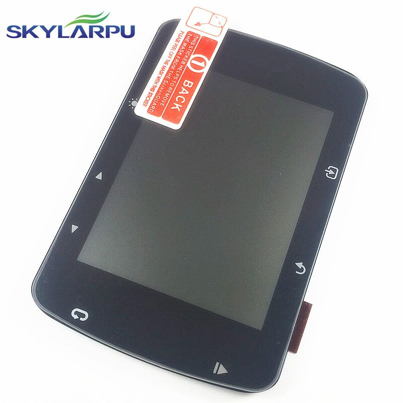skylarpu LCD screen for GARMIN EDGE 520 bicycle speed meter LCD display Screen panel Repair replacement Free shipping skylarpu 2 4 inch lcd screen for garmin edge 820 bicycle speed meter display screen panel repair replacement without touch