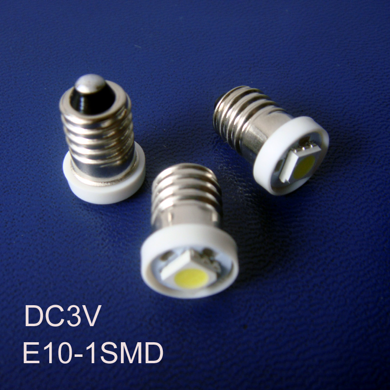 High quality DC3V E10 Led Instrument Light,E10 Led Bulb Lamp Light Led E10 Indicator Lamp Pilot Lamp free shipping 20pcs/lot