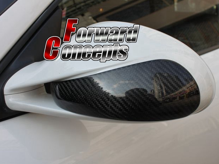 Fit for Carbon Fiber  Carrera Boxster Cayman 997 911 987 Mirror Covers