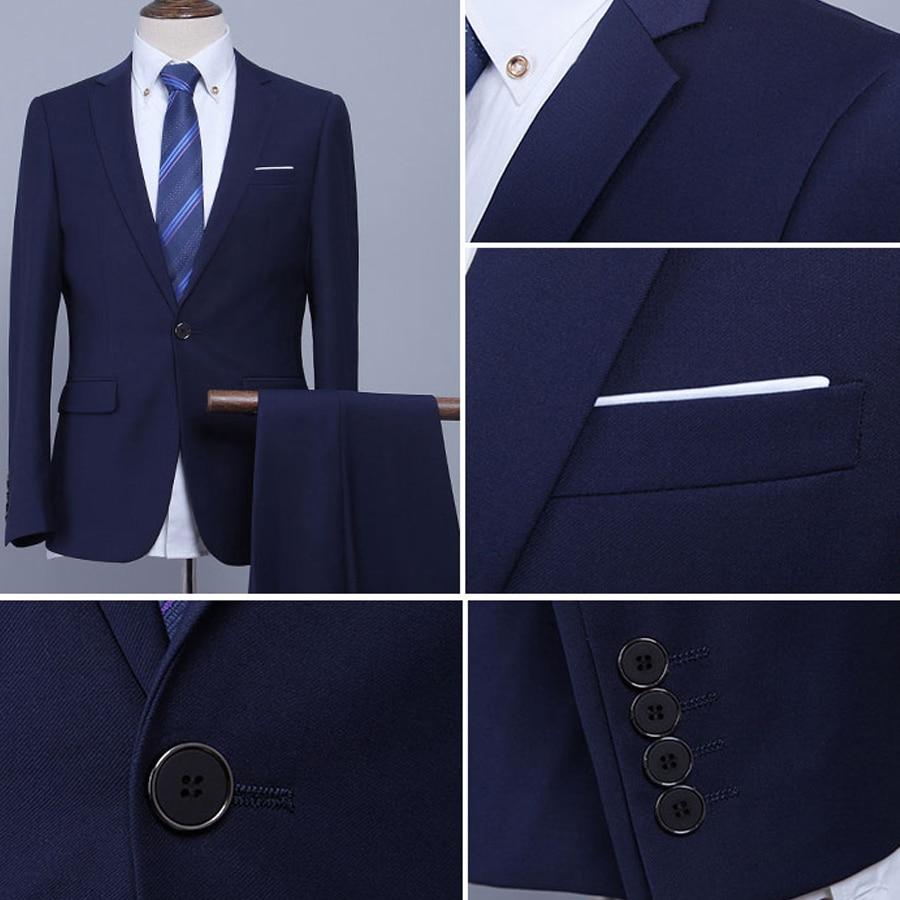 (Jacket + Pant + Tie) Γυναικεία κοστούμια - Ανδρικός ρουχισμός - Φωτογραφία 4