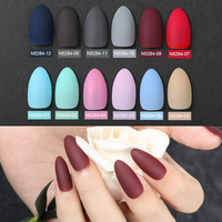 ROSALIND fake press on clear nails tips display for nail extensions Full Cover Convenient Matte Artificial false nail art