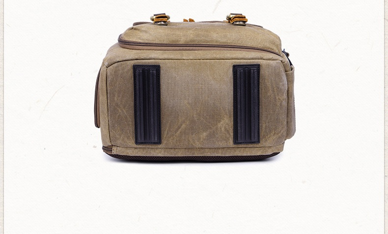 Vilnius Canvas Camera Bag