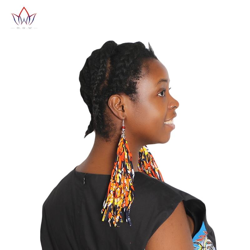 2017 Hot Sale Mode Afrika Rumbai Anting-Anting Gaya Boho Handmade - Pakaian nasional - Foto 3