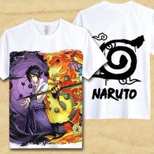 Naruto Uchiha Logo T Shirt