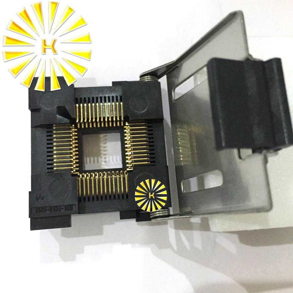 все цены на 100% Original NEW LCC 48Pin LCC48 IC Test Socket Connector / Programmer Adapter / Burn-in Socket Connector IC53-0484-100 онлайн