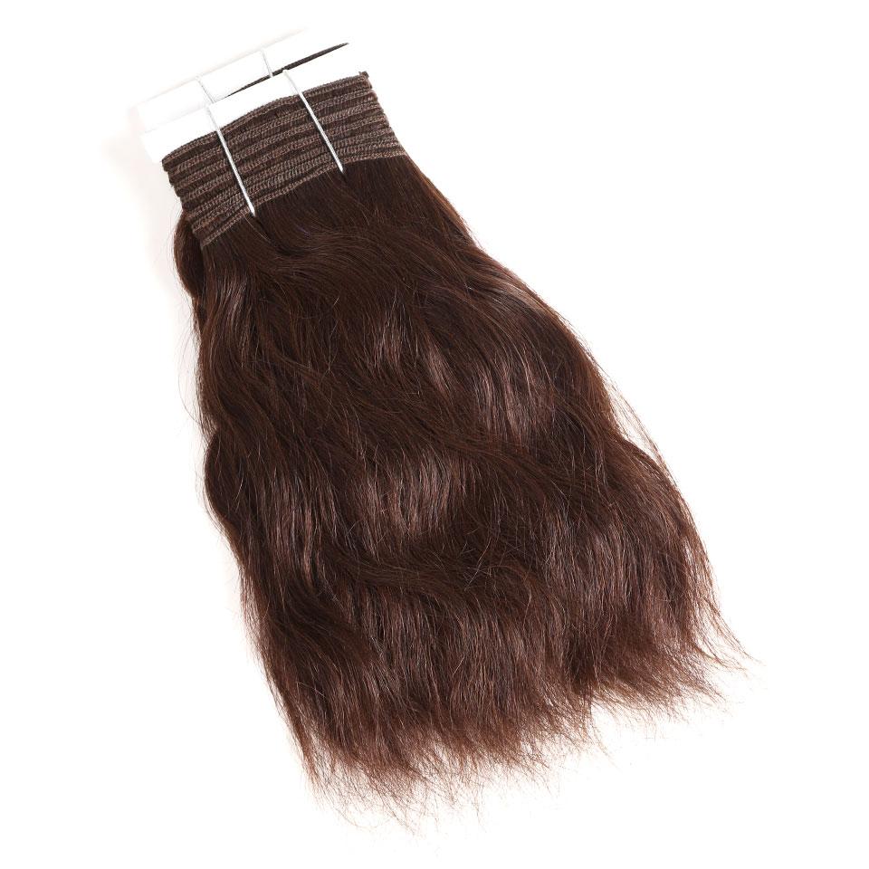 Hair Extensions & Wigs Hair Weaves Black Pearl Pre-colored Natural Wave Dark Brown Remy Human Hair 1 Bundle 4# Hair Weave Bundles 100g Hair Extensions