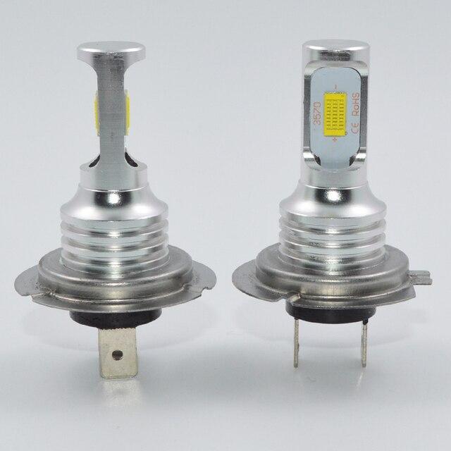 1 pair 72W H7 led Car lights 3000lm CANBUS LED Bulb White 6000k led Car Headlight car lamp 12V 24V H7 headlamp car styling