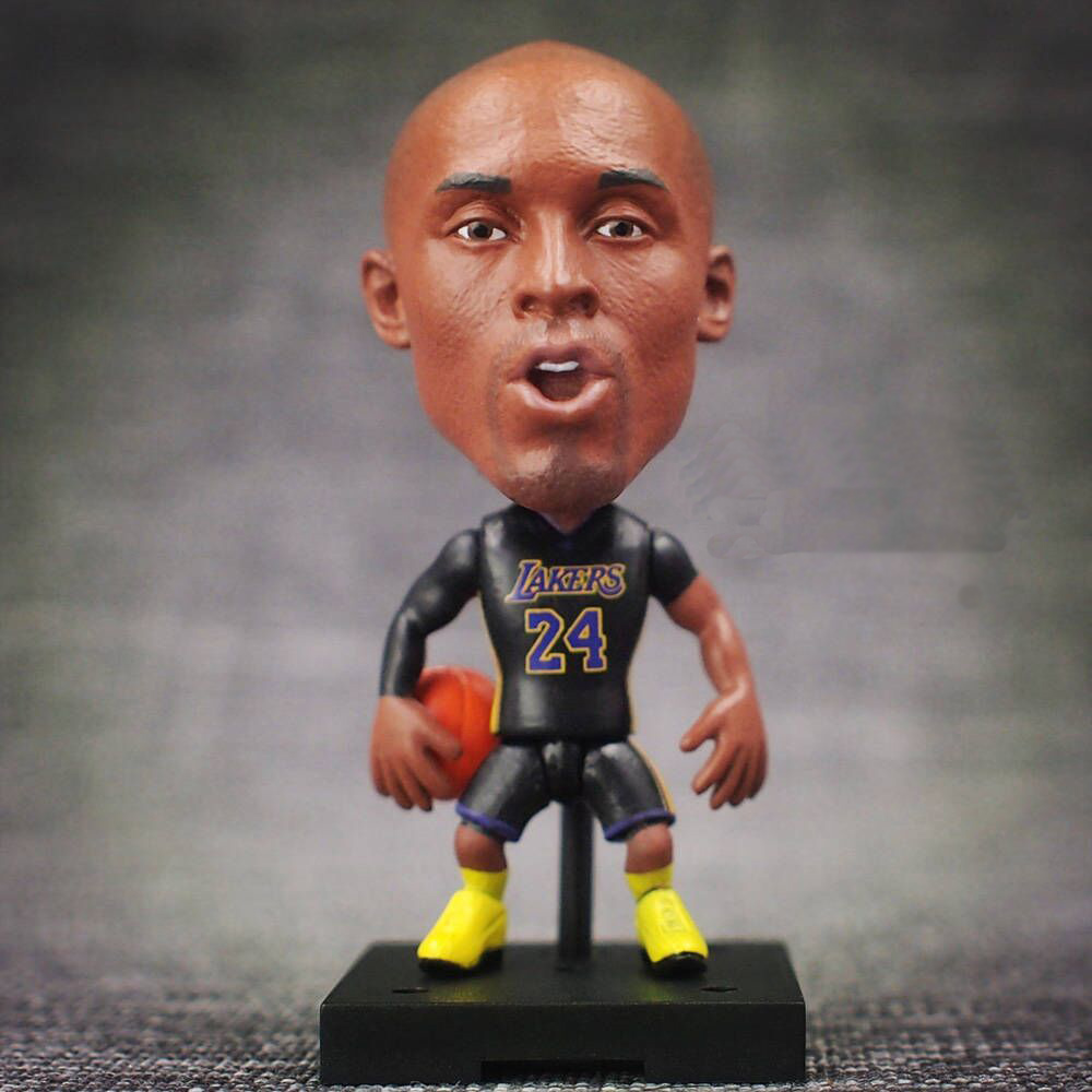 KODOTO SoccerWe Black Away Kobe Bryant movable moving Basketball player star display collection dolls toys ...