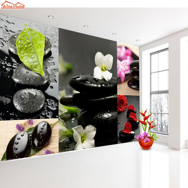 Shinehome 3 D Wallpaper For 3D Livingroom Wall Paper Roll Spa