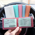 cover for student card Card Holder Mini Driver License Cover For Car Driving Documents For Men Woman documento carro Wholesales