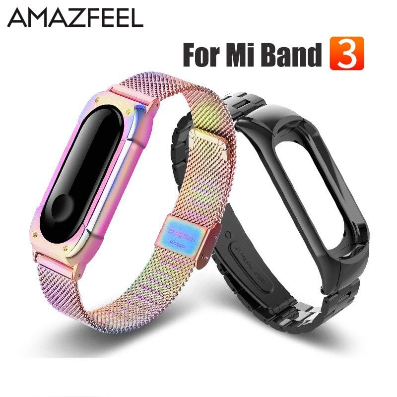 Miband 3 Strap Metal for Xiaomi Mi Band 3 Bracelet Screwless Mi Band 3 NFC Bracelets Correa Xiomi MiBand 3 Wrist Band Straps олег ракшин про памятник чехословацкому легиону в самаре