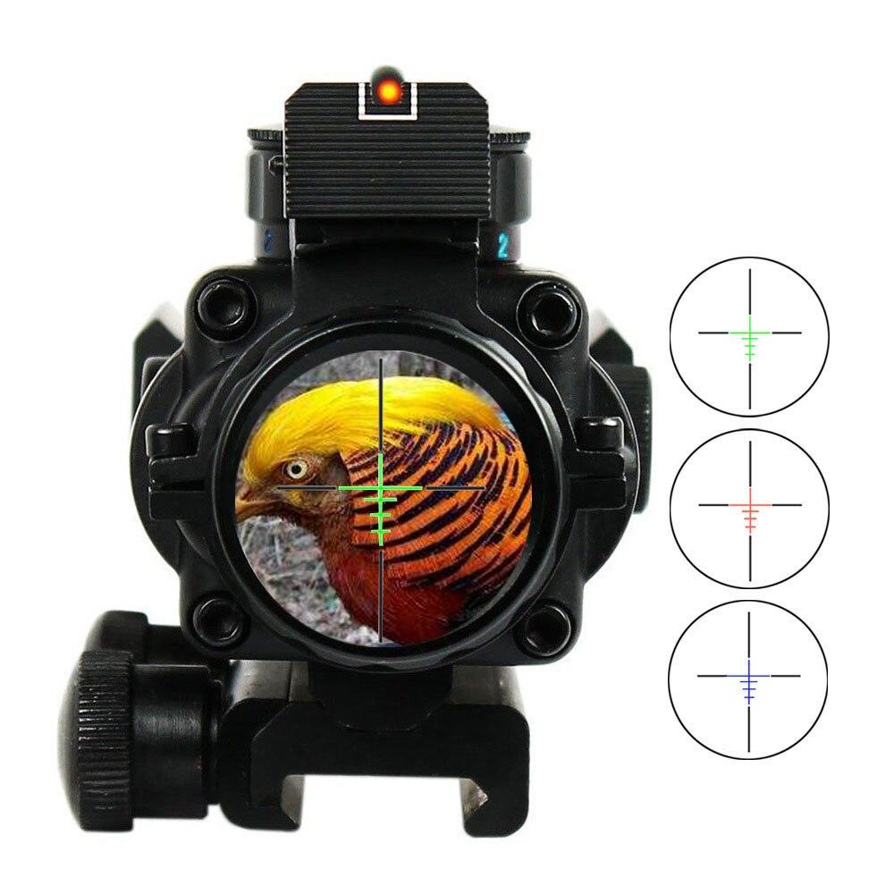 Lunette de visée 4x32 Acog 20mm lunette de visée tactique