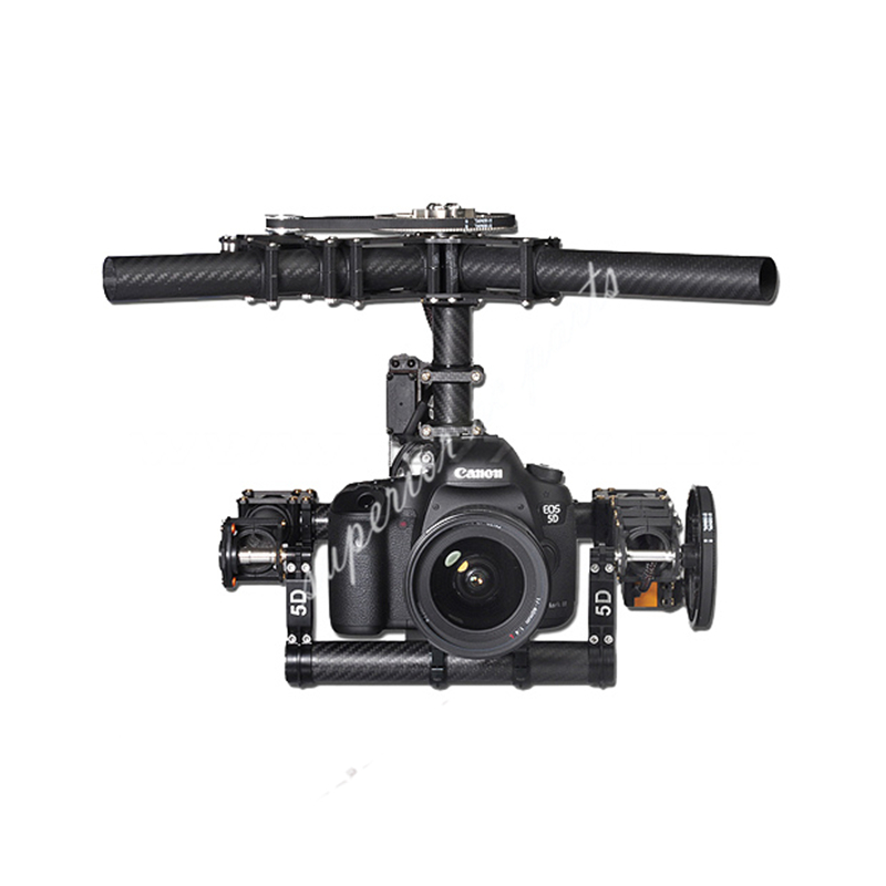 Tarot Invincible 3 axes TL100AAA 5D2 support de caméra pour DSLR 5D Mark D800 900 photo aérienne FPV TL100B01
