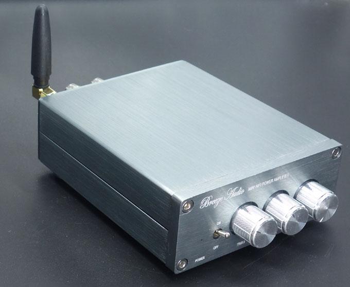 Prix pour BL10A TPA3116 2.0 Bluetooth 4.0 Hifi Audio Numérique Amplificateur de Puissance 50 W + 50 W 12 V Fini Amplificador Maison AMPLI Sliver
