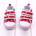 Criança Das Meninas Dos Meninos Da Marca Sapatas de Lona Fundo Macio Do Bebê Sapatos de Desporto para Crianças Prewalkers Sapatilhas calcados infantil menina CQ125