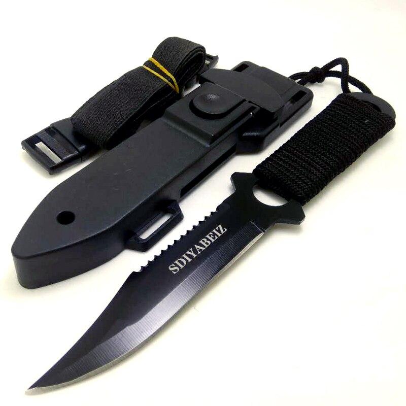 Охотничий нож с фиксированным лезвием из нержавеющей стали, многофункциональные тактические ножи для кемпинга, выживания, ручной инструмент, нож SDIYABEIZ|hunting knife fixed blade|knives fixed bladeknife outdoor | АлиЭкспресс