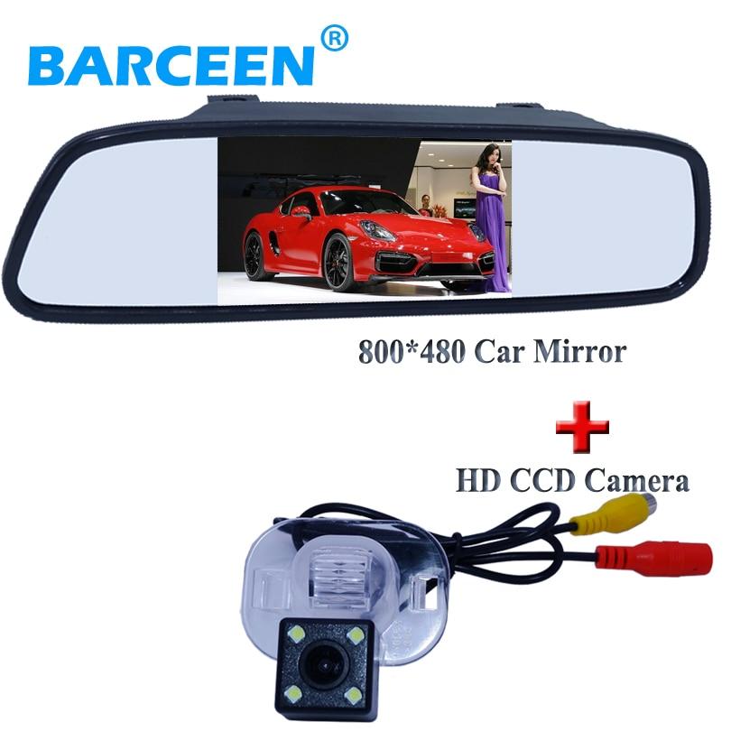 For KIA FORTE for Hyundai Verna Sloaris Sedan 170 angle car parking camera with the car monitor use for car parking 4.3