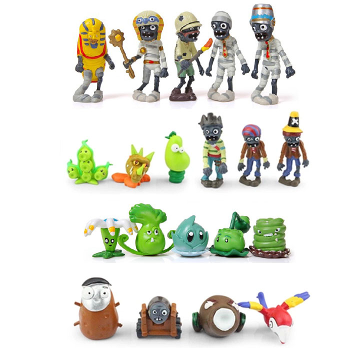 20pcs/set PVZ Plants vs Zombies 2 Its About Time Mini PVC Action Figure Collection Toys Dolls 8cm Free Shipping global нож для овощей и фруктов global 18 см