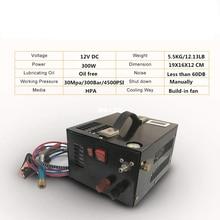 12V נייד PCP אוויר מדחס עם שנאי עבור 5.5 Rir רובה מילוי טנק