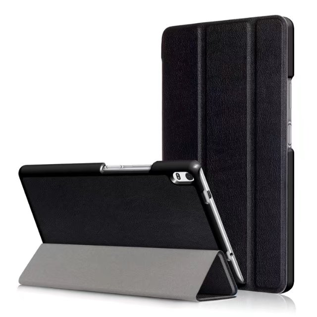 Magnetic Stand PU leather smart Cover for <font><b>Lenovo</b></font> Tab 4 8 Plus <font><b>8704</b></font> TB-8704F TB-8704N Tablet case image