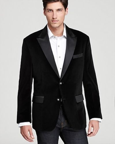 Custom Mader Men S Black Velvet Handmade Designer Blazer Luxury