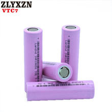 40-400PCS NEW 18650 Rechargeable Batteries For Samsung Battery 3300mAh INR18650 30A lithium Li ion 3.7V 18650VTC7