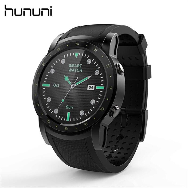 Hununi HW1 Smart Watch Support SIM 3G WIFI GPS Bluetooth with Heart Rate Monitor Sports Fitness Tracker Smartwatch Wristwatch цена