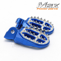 Motorcycle Billet MX Wide Foot Pegs for KTM 125 SX/EXC,144 150 SX,200 250 SX/EXC,250 350 400 450 SX F/EXC F,300 Free Shipping