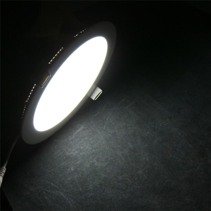 LED Panel Downlight 110v 220v Led Indoor Ceiling Recessed lights for Kitchen Bathroom Living Room