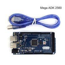 1 pcs ADK Méga 2560 2012 BRAS Version Carte De Commande Principale avec USB Compatible avec (Google ADK 2012) pour ARDUINO MEGA ADK