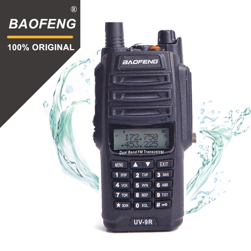100% D'origine Baofeng UV-9R IP67 Étanche Dual Band U/Vhf Talkie Walkie Ham Radio Portable BF-UV9R 5 W Talkie Talky 10 KM Gamme