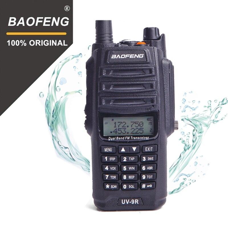 100% Original Baofeng UV-9R IP67 Waterproof Dual Band U/Vhf Walkie Talkie Ham Portable Radio BF-UV9R 5W Walky Talky 10KM Range