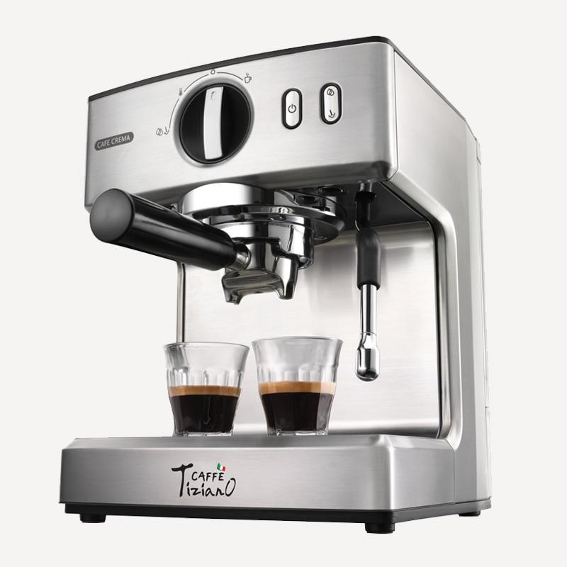 220V Semi Automatic Professional Electric Coffee Maker 15Bar Espresso Steam Coffee Machine For Home Office Using EU/AU/UK Plug