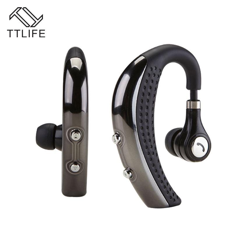 TTLIFE Bluetooth Metal Headphone Wireless V4.1 CSR8635 Apt-x CVC6.0 Noise Cancelling Earphone Magnetic Headset with HD Mic