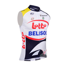2016 Men's New Hot LOTTO cycling sleeveless jersey vest MTB Bicycle Clothing pro team Sport cheap-clothes-china maillot ciclismo