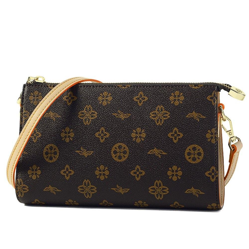 Sac à bandoulière en cuir PVC pour femmes sac à bandoulière classique pour femmes sac à main de luxe sac de créateur de mode porte-monnaie Bolsos Mujer