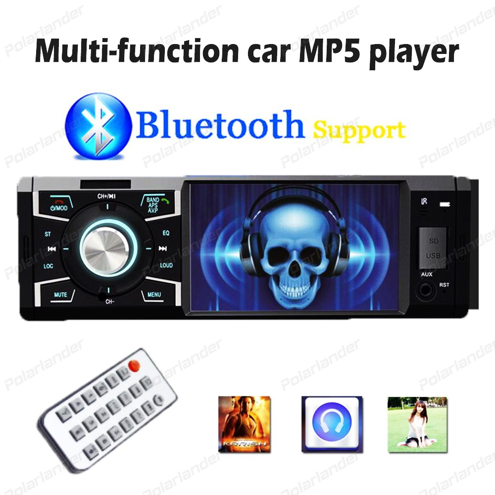 4 inch Car Mp5 Players stereo radio Bluetooth Support Remote Control Micphone TF Card Player With