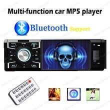 4 дюймов Автомобиля Mp5 Плееры, стерео радио Поддержка Bluetooth Дистанционного Управления Micphone TF Card Player С автомобильная камера заднего вида