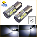 2pcs High Power 11w HID White H21W BAY9s 120 degress CRE E LED Lens Bulbs for Backup or Parking Lights, Base: h21w, bay9s
