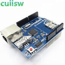 10 Uds Shield UNO Ethernet Shield W5100 R3 UNO Mega 2560 de 1280 de 328 de la UNR R3 sólo W5100 Placa de desarrollo para arduino