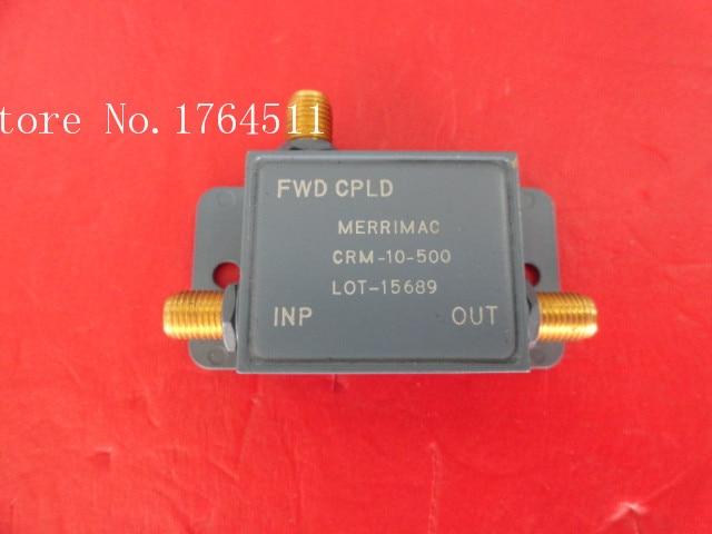[BELLA] MERRIMAC CRM-10-500 0.1-1GHz Coup:10dB Coupler